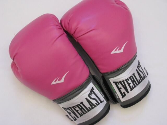 Womens Everlast Pro Style Training Boxing Gloves 8oz Pink 2508W Cross Fit  NICE ff887f456e