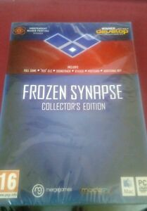 Frozen Synapse  Collector s Edition PCMac DVD - Mansfield, United Kingdom - Frozen Synapse  Collector s Edition PCMac DVD - Mansfield, United Kingdom