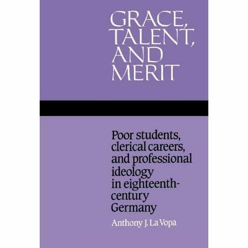 Grace Talent Merit Poor Students Clerical Careers Pro. 9780521350419 Cond=LN:NSD