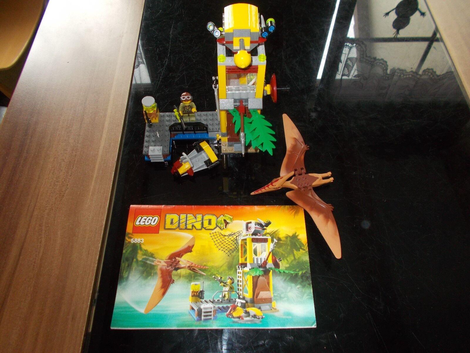 LEGO ® Dino - 5883-Dinosaure Pteranodon piège-Avec de recette (BA)