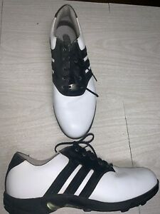 Adidas Mens Golf Shoes Z Traxion EVN-791003 Soft Spikes White ...