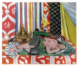 Henri-Matisse-litho-039-Odalisque-couchee-pantalon-gris-039-1939-Edit-Braun-amp-Cie-COA