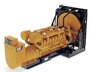 Diecast Masters 85100 Groupe générateur de paquets Cat 3516b à l'échelle 1:25 (mib)