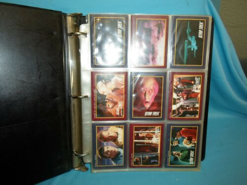 Star Trek 25th Anniversary 1991 Red and Blue 310 Card Set Complete in Pages