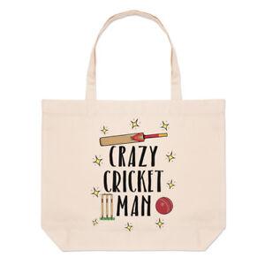 Crazy borsa Spiaggia grande Cricket uomo manico Divertente con da 4xw4qrp6