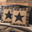 BLACK-CHECK-STAR-QUILT-SET-amp-ACCESSORIES-CHOOSE-SIZE-amp-ACCESSORIES-VHC-BRANDS thumbnail 4