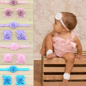 Newest-Baby-Flower-Foot-Flower-with-Headband-Infant-Barefoot-Sandals-for-Babies