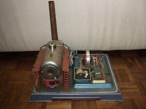 Vintage Wilesco D-32 Steam Engine for Restoration – Large Size