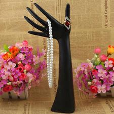 Female Mannequin Hand Display Jewelry Bracelet Ring Glove Stand Holder Black