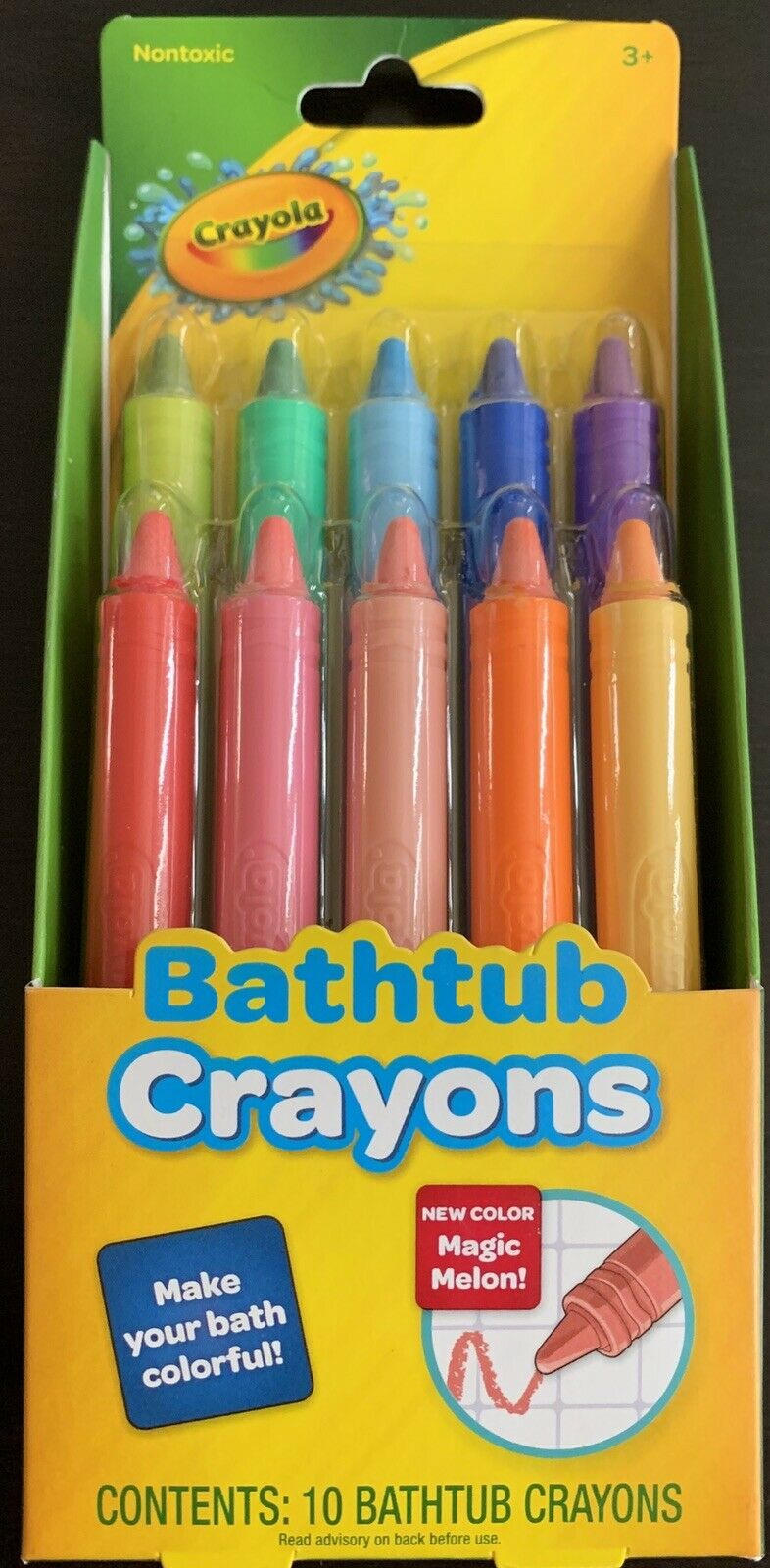 GBG BATHTUB CRAYONS 10PK 9CT Pack of 3