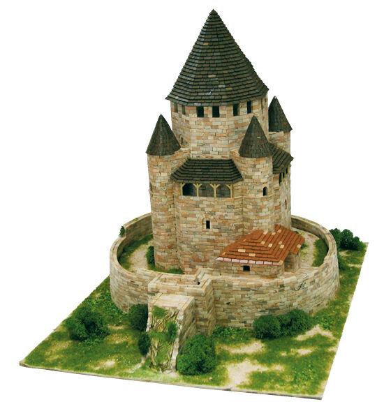 Aedes 1009. Maquette Château Tour Cesar. Construction en brique