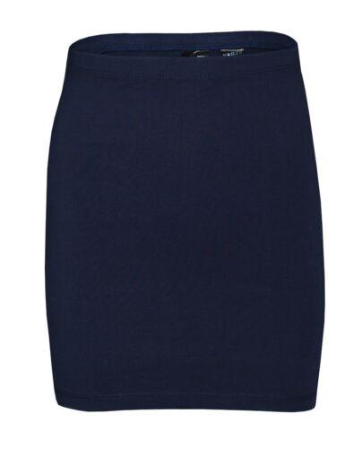 Femme h/&m Bodycon Stretch Mini Tube Jupe en Jersey Bleu Marine Taille 10 Euro 38 femmes