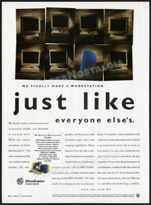 SILICON GRAPHICS INC - O2 Desktop Workstation__Orig. 1997 Print AD / Advert__SGI