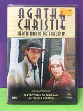 AGATHA CHRISTIE Matrimonio ABUESOS- DVD- Nuevo Precintado
