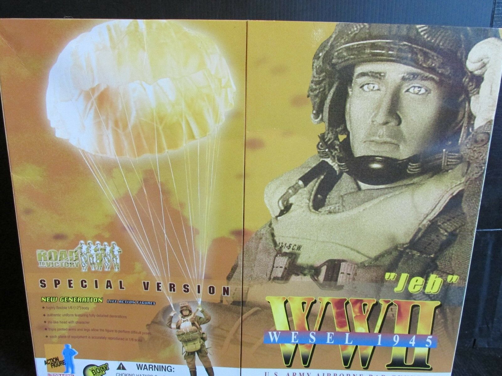 Dragon DiD  1 6th scale Action figures WW 11WESEL 1945   JEB