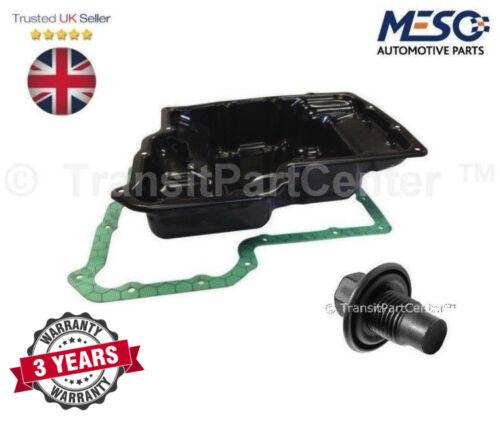 OLIO Nuovo di Zecca Coppa dell/'Olio Pan /& Spina /& Guarnizione Ford Transit MK6 MK7 2000-2014 2.4 RWD