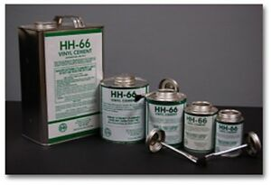 8oz Hh66 Hh 66 Vinyl Adhesive Glue Cement Boat Sail Repair