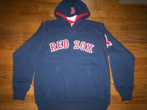 save off bd04f 098c5 Details about BOSTON RED SOX NEW MLB MAJESTIC GOLDEN CHILD HOODED SWEATSHIRT