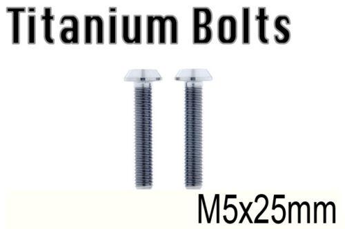 US Seller x2 New Titanium Ti Bolt M5x25mm Taper Torx T25 M5 25L Bicycle Screw