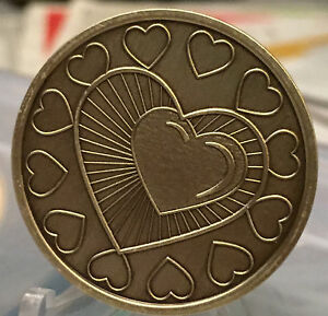 My-Heart-Is-In-Recovery-Medallion-Chip-Coin-AA-Bronze-One-Day-At-A-Time-ODAAT