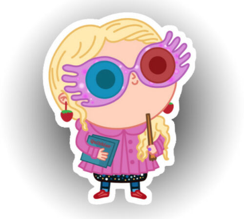 Harry Potter Luna Lovegood Hogwarts Nibbler Gryffindor waterproof sticker