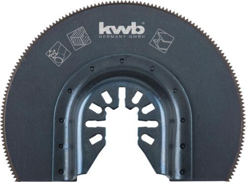 KWB Multi-outil Tauchsägeblatt demi-cercle HSS 87 mm