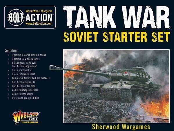 28mm Warlord Games Soviet Tank War Starter Army Bolt Action WWII BNIB