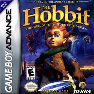 NINTENDO-GAME-BOY-ADVANCE-THE-HOBBIT-INSTRUCTION-BOOKLET-ONLY