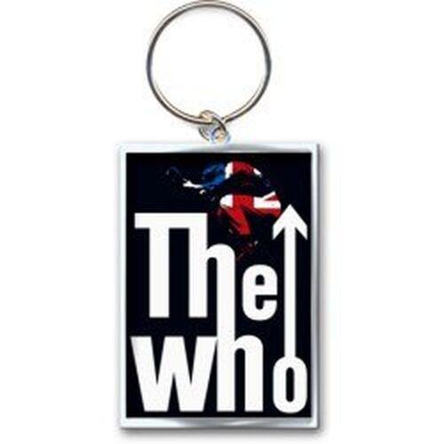 The Who freccia salto logo UK bandiera ufficiale portachiavi in metallo