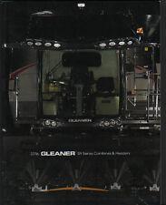"""AGCO Gleaner 2016 """"S9 Series"""" Combine & Header Brochure Leaflet"""
