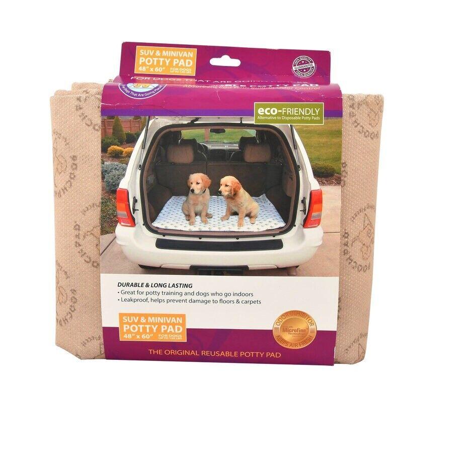 Pooch Pad Wiederverwendbar Potty Pad SUV Minivan Beige Schutz