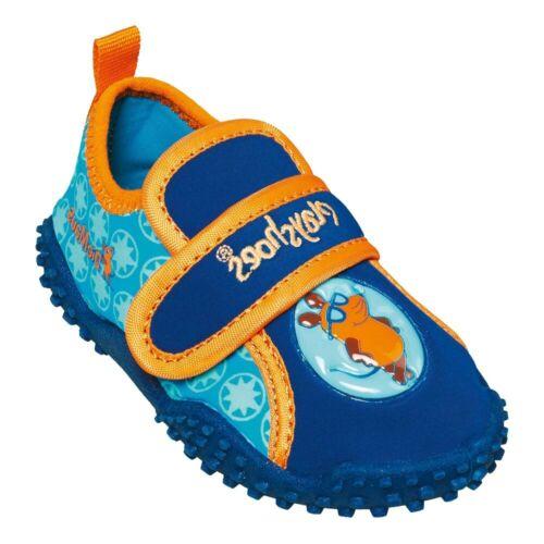 PLAYSHOES Kinder Aquaschuhe Mädchen Badeschuhe Schwimmschuhe Strandschuhe Klett