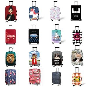 Travel-Elastic-Luggage-Cover-Suitcase-Trolley-Dustproof-Case-Protector