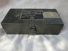 no ww2 signal corps radio militare scatola valvole