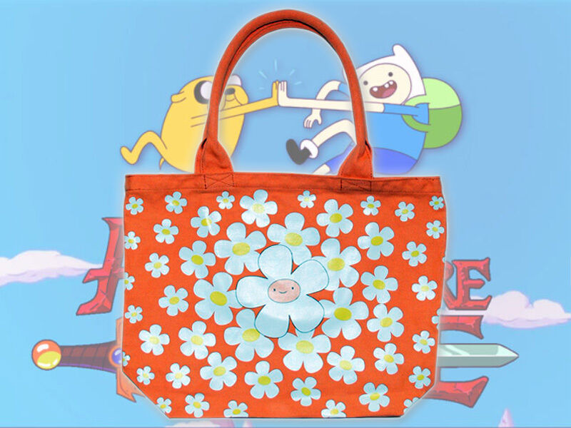 Äventyrtidsblomma FInn orange Tote Bag japan Store Exklusiv Dreamrush NY