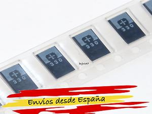 4x-Condensador-tantalum-SMD-330uf-2-5v-NEC-TOKIN-OE907-0E907-OE128-0E128