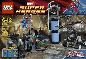 Lego 6873 Super Heroes Marvel Universe Spider-Man s Doc Ock embuscade NEUF