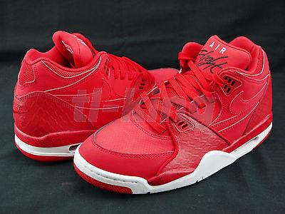 Nike Air Flight 89 University Red White Black 306252-601 Msrp $110