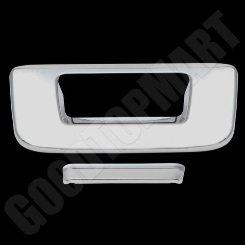 FOR 2007 2008 2009 2010 2011 2012 2013 GMC SIERRA Chrome Tailgate Cover w//o kh