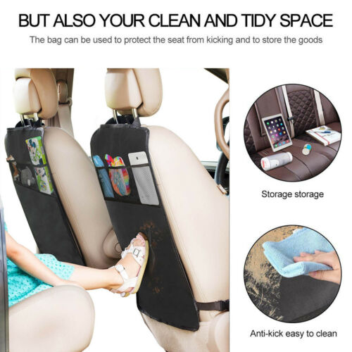 Car Seat Back Cover Protector Anti-kick Clean Mat Pad Wear-proof Mat For Kid New
