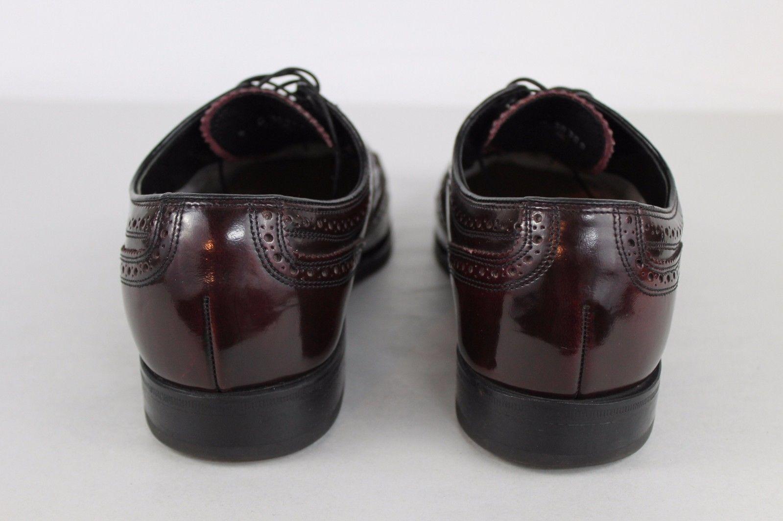 Florsheim Burgundy  Wingtip Dress D Shoes Pelle Uomo Size 9 D Dress Model 30300 36b2cd
