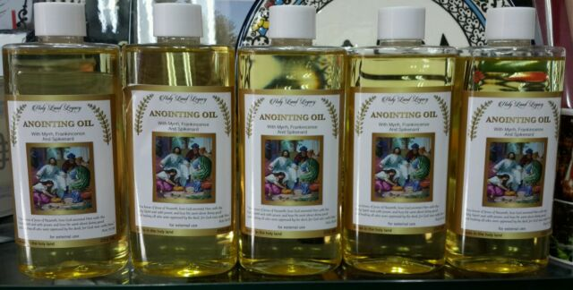Anointing Oil 5 Jerusalem Frankincense,Myrrh,Spikenard 250ml.8.45oz EXCLUSIVE !