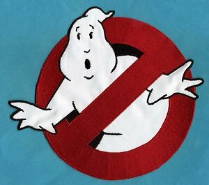 LARGE-Ghostbusters-1-style-8-034-inch-No-Ghost-Embroidered-Iron-On-Patch