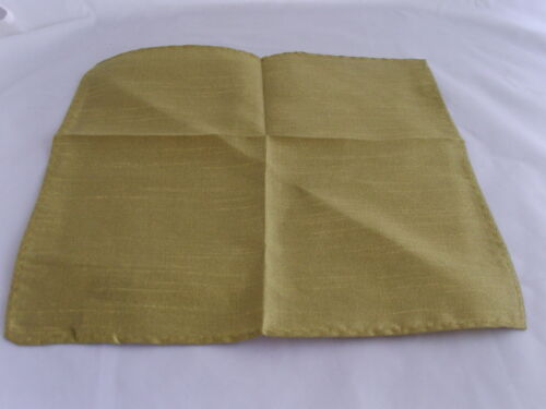 Bow tie Cravats Sets /< GG /> Metallic Polyester Gold Collection /> Hankie