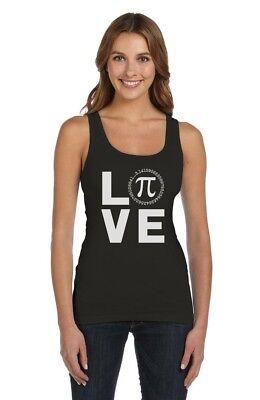 Ladies Racerback Tank I Ate Sum Pi Funny Pi Day Math Teacher Shirt Hot Pink 2XL