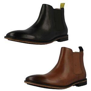 Clarks Mens Cuban Heel Shoes
