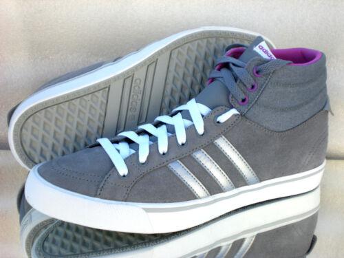 ADIDAS Neo PARK ST MID W F97726 High Top Sneakers Wildleder Farbe Grau Neu   eBay