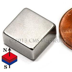 "CMS Magnetics® 50 pieces Neodymium Magnets N50 1/2x1/2x1/4"""