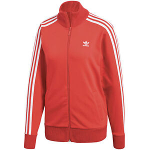 con Top sportiva Track Suit Strickdetails Originals Red Giacca Adidas qBSXEW