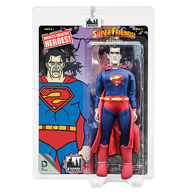Super Friends Retro Style Action Figures Series 4 Set of all 4 by FTC